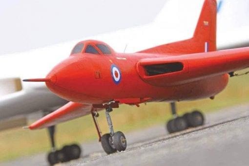 RC2126 Avro 707A Plan
