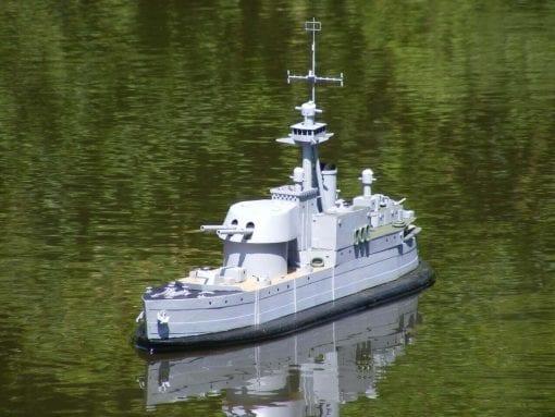 MM2089 HMS Vulcan Plan