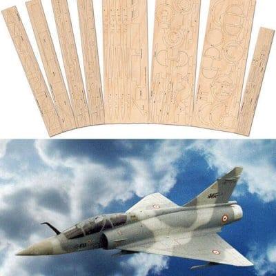 Mirage 2000C - Laser Cut Wood Pack