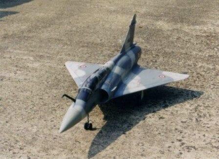 Mirage 2000B Plan