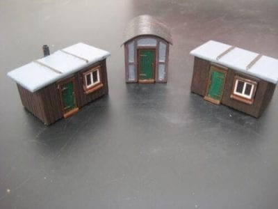 Lineside Huts SET (O Gauge)
