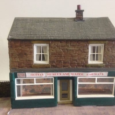 Low Relief Shop Kit (O Gauge)