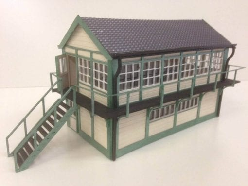 Plywood 0 Gauge Low Relief Signal Box Kit