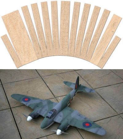 DH Mosquito - Laser Cut Wood Pack