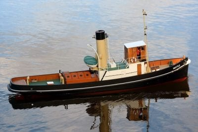 MM2086 1933 Steam Tug Wattle
