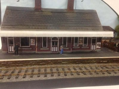 O Gauge Low Relief Railway Station Kit