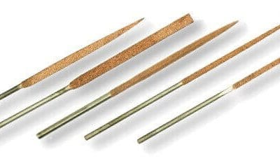 Set of 5 14cm needle files