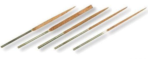 Set of 5 14cm needle files