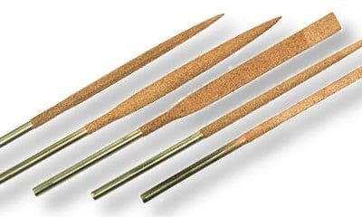 Set of 5 large 18cm needle files