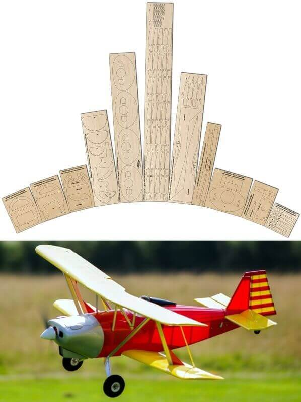 Anreasson BA-4B - Laser Cut Wood Pack
