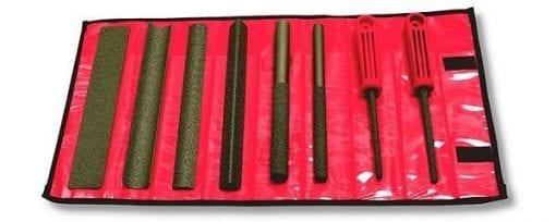 Handy set of 8 hand tools in wallet - Coarse
