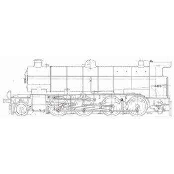 GNR O2 Class 2-8-0 Locomotive: Nigel Gresley (Plan)