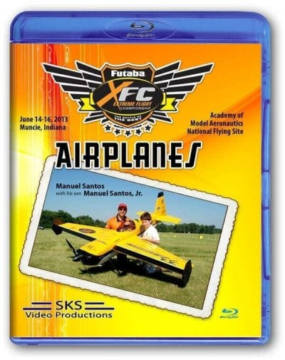XFC 2013 Airplanes Blu-ray
