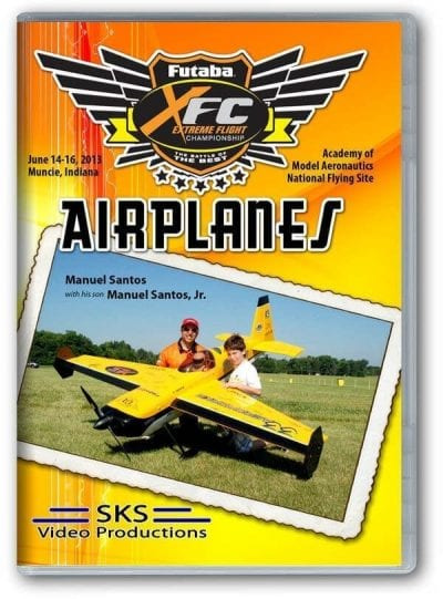 XFC 2013 Airplanes DVD