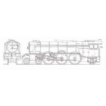 LNER Pacific Class Locomotive: Flying Scotsman (Plan)