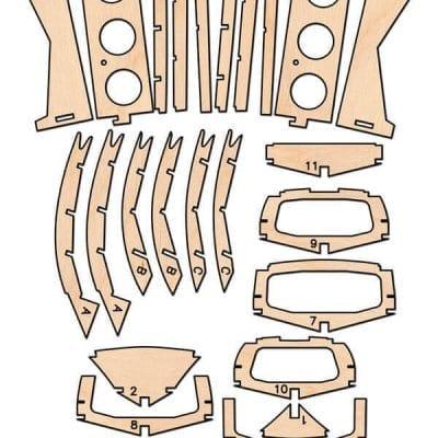 Riva Aquarama - CNC Cut Wood Pack