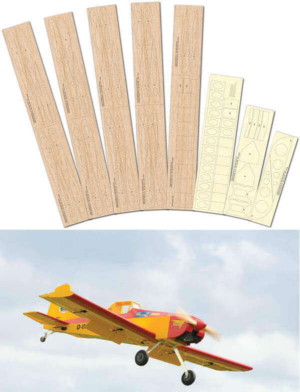 Farmhand 60 - Spare Wings Laser Cut Wood Pack