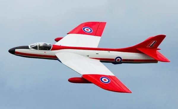 "Hawker Hunter (68"") Plan"
