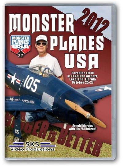 Monster Planes USA 2012 DVD
