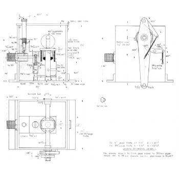 Single Ram Mechanical Pump (Plan)