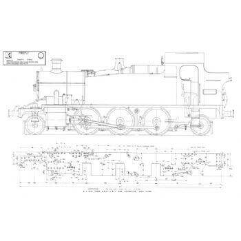 2-6-2 Tank Locomotive: Firefly (Plan)