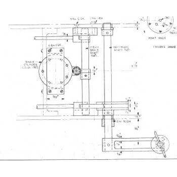 Hand & Steam Brake Gear (Plan)