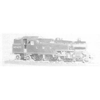 2-6-4 Tank Locomotive: Jubilee (Plan)