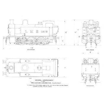 0-6-0 Tank Locomotive: Twin Sisters (Plan)