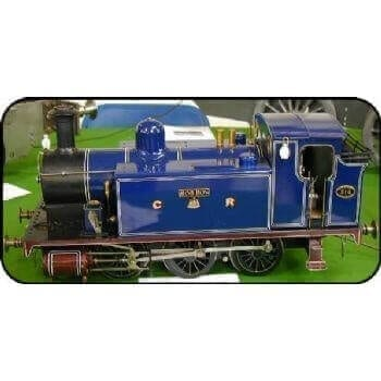 0-6-0 Tank Locomotive: Rob Roy (Plan)