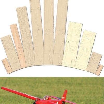 Minnow Plan - Laser Cut Wood Pack