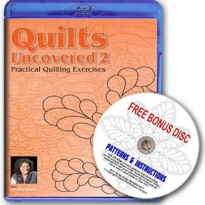 Quilts Uncovered 2  Blu-Ray