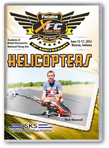 XFC Helicopters 2012 DVD