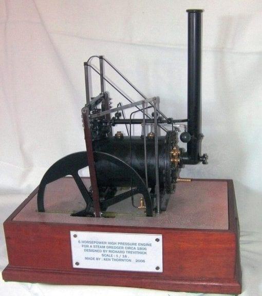 M58 Trevithick Steam Dredger Engine Plan