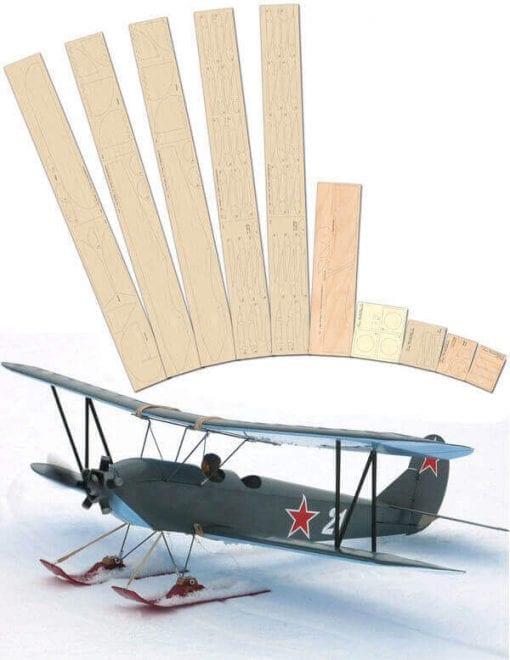 Polikarpov Po-2  - Laser Cut Wood Pack