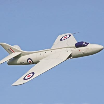 RC2161 Hawker Hunter P1067 Prototype