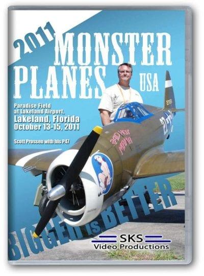 Monster Planes USA 2011 DVD