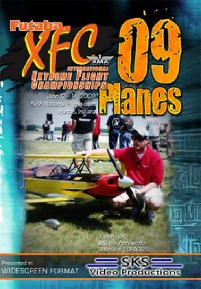 XFC 2009 Airplanes DVD