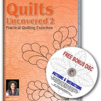 Quilts Uncovered 2  DVD