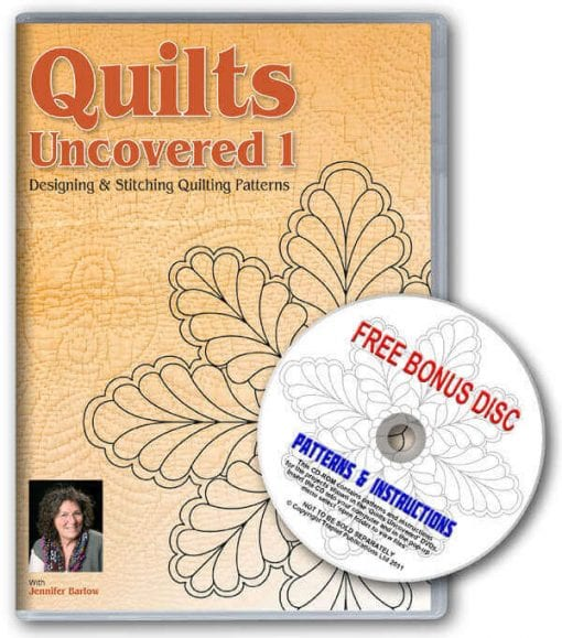 Quilts Uncovered 1 - DVD