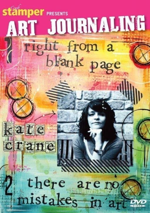 Art Journaling 1 and 2 Box Set: Right from a Blank Page and There Are No Mistakes in Art DVD