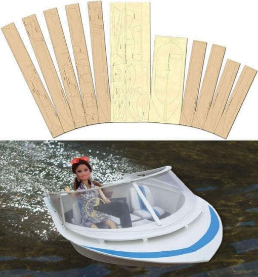 Barb's Boat - Laser Cut Wood Pack