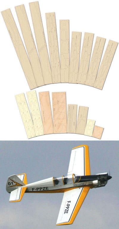 Dalotel DM-165 - Laser Cut Wood Pack