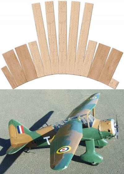 Westland Lysander - Laser Cut Wood Pack