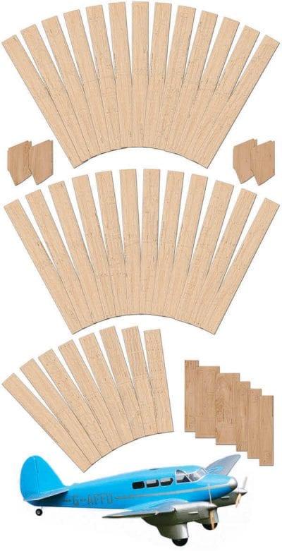Percival Q6 Petrel - Laser Cut Wood Pack
