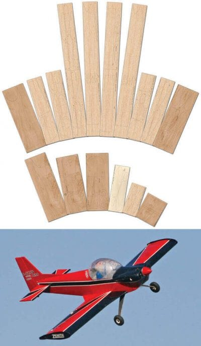 Super Acro-Zenith CH180 - Laser Cut Wood Pack