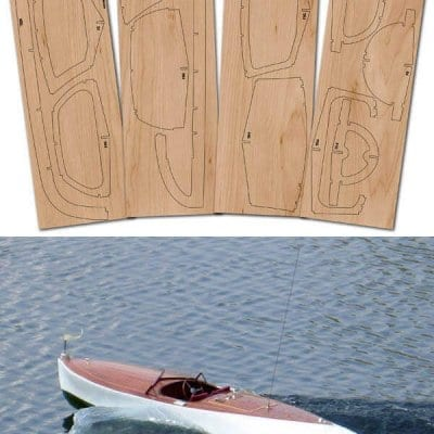 SG&K 22' Gentleman's Runabout - Laser Cut Wood Pack