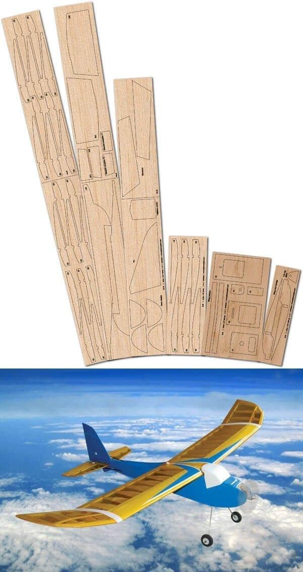 Heron - Laser Cut Wood Pack