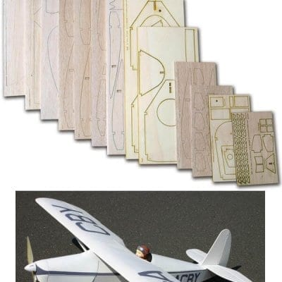 "Comper CLA-7 Swift (54"") - Laser Cut Wood Pack"