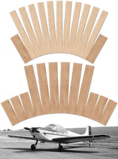 "Rollason Condor (83"") - Laser Cut Wood Pack"