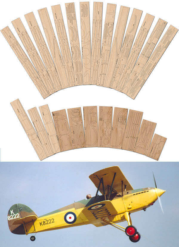 "Hawker Fury 1 (60"") - Laser Cut Wood Pack"
